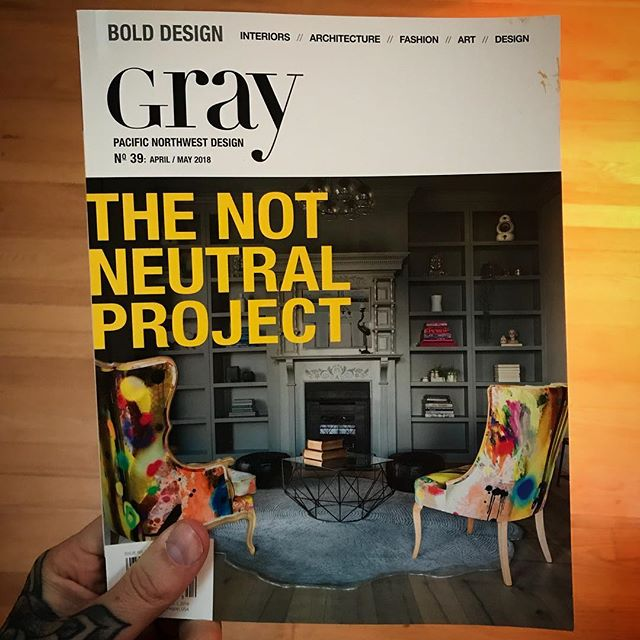Gray magazine - Penny Black Interiors