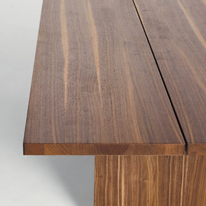 "Walnut Gather Table 95"" Walnut Designed by Jacob Plejdrup"